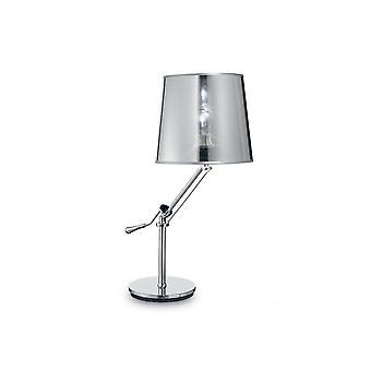 Ideal Lux Regol Table Lamp Chrome