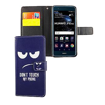 Tocar mi caso móvil teléfono Huawei P10 Flip Lite caso de cartera