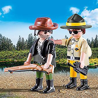 Playmobil 9217 Duo Pack Ranger és Hunter