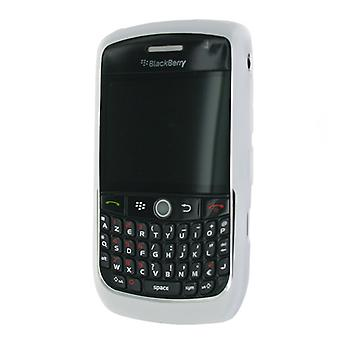 OEM Blackberry Silicone Skin Case for Blackberry Curve 8900 - Clear White