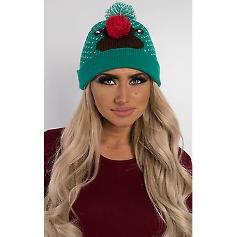 IKRUSH naisten Ralphie Rudolph Bobble hattu