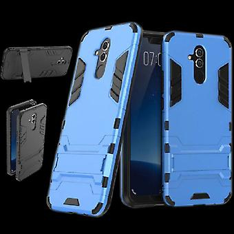Pour Huawei s'accouplent Lite style métal extérieur sac bleu clair Housse Etui protection 20 nouveaux