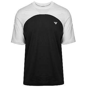 Emporio Armani White & Black T-Shirt