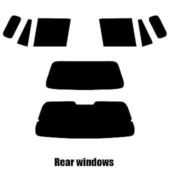 Pre cut fönstret nyans - Mazda Demio MPV - 1999 till 2002 - bakre windows