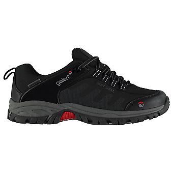 Gelert Mens Softshell Walking Shoes Waterproof Lace Up Breathable Lightweight
