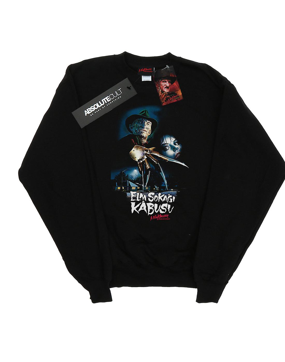 A Nightmare On Elm Street Men's Turkish Movie Poster Sweatshirt