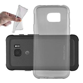 Cadorabo Caja para Samsung Galaxy S7 ACTIVE Funda de caso - Funda de teléfono móvil hecha de silicona TPU flexible - Funda de silicona Funda protectora Ultra Slim Soft Back Cover Parachoques