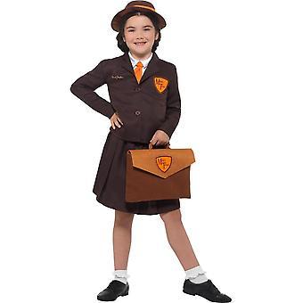 Malory Towers, Kostüm, Enid Blyton Fancy Dress, große 10-12 Jahren
