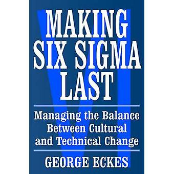سيغما ستة صنع آخر-إدارة التوازن بين الثقافة و