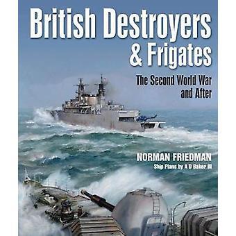 英国の駆逐艦とフリゲート艦 - 第二次世界大戦後は、