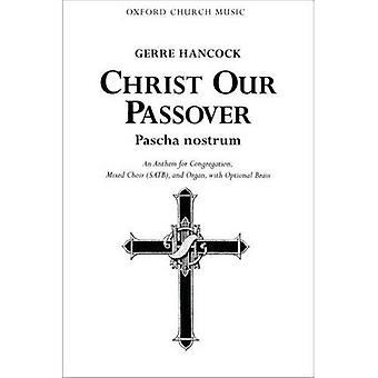 Cristo nuestra Pascua (Pascha nostrum): partitura Vocal