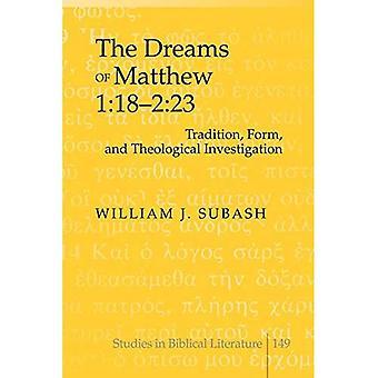 Los sueños de Mateo 1:18-2:23