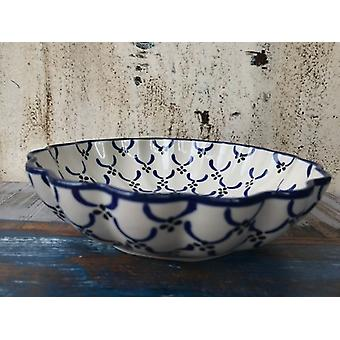 Dish, with a wavy margin, Ø 24 cm, height 6 cm, tradition 25, BSN 7910