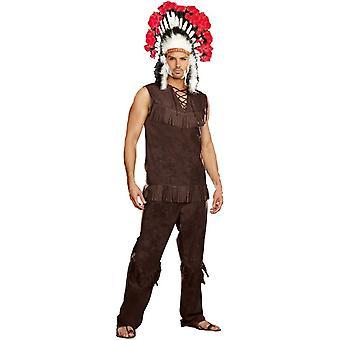 True Native American Adult Costume