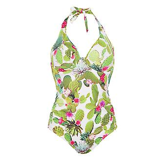 Freya Cactus As3882 Wp Underwired, Padded Halter Swimsuit