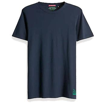 Scotch & Soda Solid Cotton Jersey T Shirt