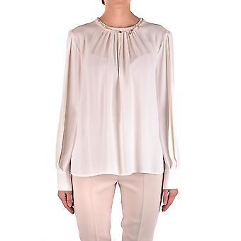 Elisabetta Franchi Ezbc050108 Women's White Viscose Shirt