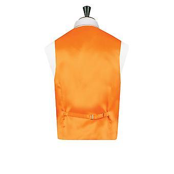 Doball jongens oranje Dupion gilet Regular Fit