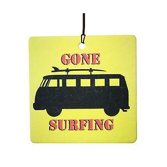 Surfen auto luchtverfrisser gegaan