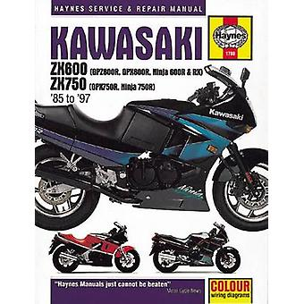 Kawasaki Ninja ZX600 Motorocycle Repair Manual - 9781785213069 Book