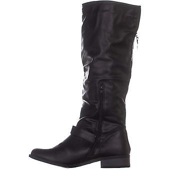 XOXO mujer Minkler ronda Toe rodilla moda botas