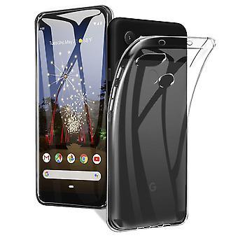 Google Pixel 3A XL Puhelin tapa uksessa tapa uksessa kotelo silikoni läpinäkyvä