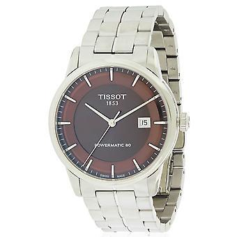 Tissot luxe automatische Stainless Steel heren horloge T0864071129100