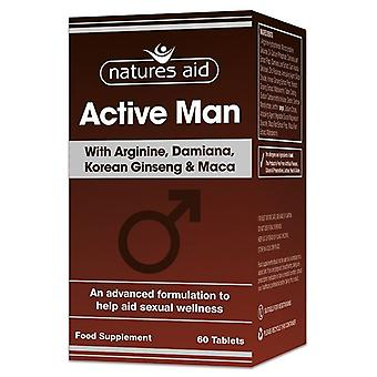 Nature's Aid Active Man Tablets 60 (131620)