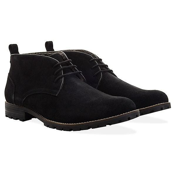 Mens black suede water resistant boot nWCUF
