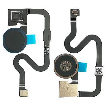 For Google Pixel 3A Finger Fingerprint Sensor Black Flex Flex Cable Home Button