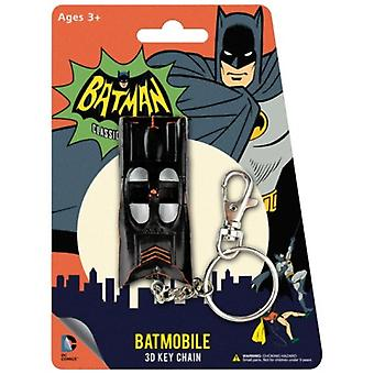 Key Chain - DC Comics - Batman Batmobile Classic TV 3