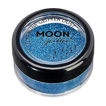 Classic Ultrafine Glitter Dust by Moon Glitter – 100% Cosmetic Glitter for Face, Body, Nails, Hair and Lips - 5g - Blue