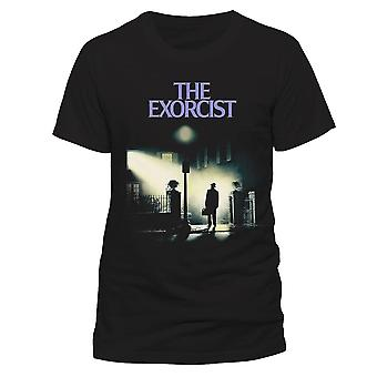 The Exorcist Unisex Adults Streetlamp Print T-Shirt