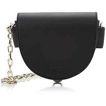 Liebeskind Berlin Mixedbsch Mixdwv - Black Woman Shoulder Bags (Schwarz (Black)) 6.0x23.0x23.0cm (B x H T)