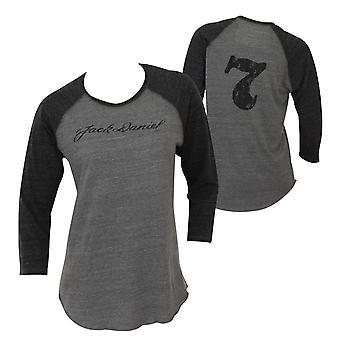 Jack Daniels Women's Baseball Tee Shirt
