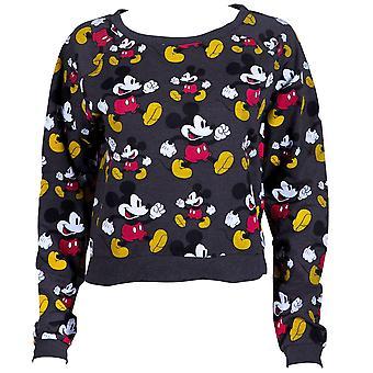 Mickey Mouse Cropped Women's Sweatshirt
