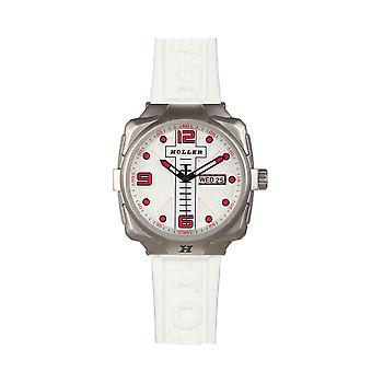 Holler Impact White Watch HLW7657-B1