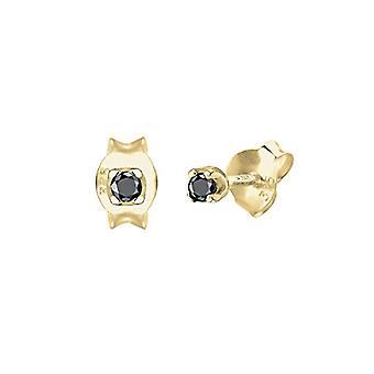 Elli Premium Gelbgold Damen Pin Ohrringe