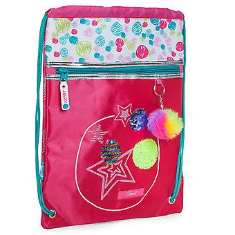 Sachet Backpack for Girl With Keychain Gym Lisbon