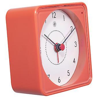 nXt - Wecker - 7,3 x 7,3 x 3,3 cm - Orange - 'Nathan'