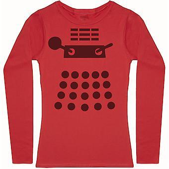 Dalek-Womens Långärmad T-shirt