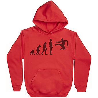 Evolution Flying Karaté Kick - Hoodie Homme