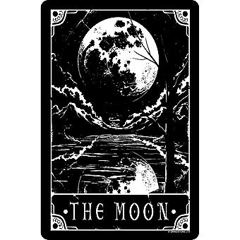 Deadly Tarot The Moon Tin Sign