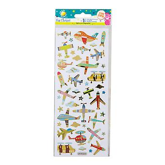Craft Planet Fun Stickers - Planes & Helicopters