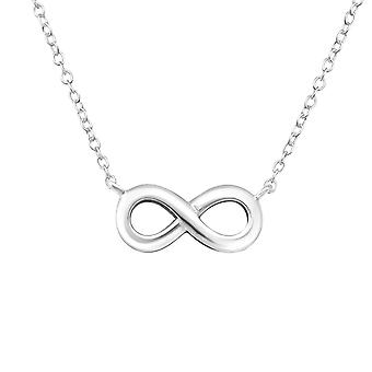 Infinity - 925 Sterling Silver Plain Necklaces - W16923X
