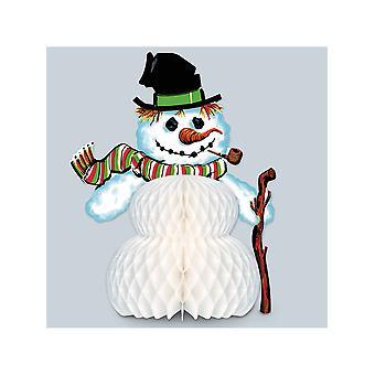 Vintage Weihnachten Schneemann Herzstück