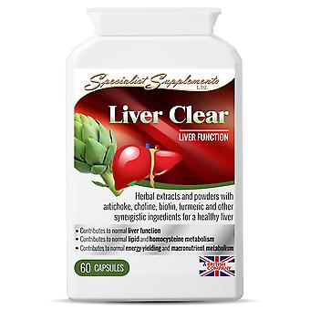 Liver Clear - 60 capsules