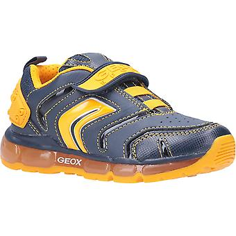 Geox Kids J Android Boy B Touch Fastening Trainer