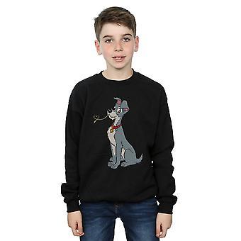 Disney Boys Lady And The Tramp Spaghetti Heart Sweatshirt
