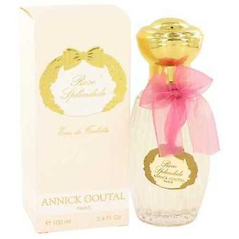 Rose Splendide By Annick Goutal Eau De Toilette Spray 3.4 Oz (women) V728-467720